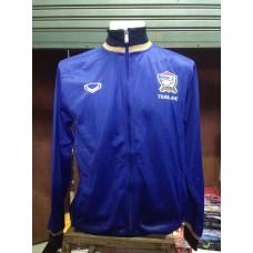 เสื้อคลุม เสื้อกันหนาว ทีมชาติไทย สีน้ำเงิน