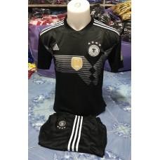ชุดทีมชาติเยอรมัน สีดำ เสื้อ+กางเกง