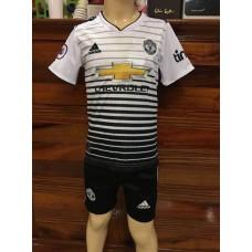 (เด็ก) ชุดทีมแมนเชสเตอร์ ยูไนเต็ด สีขาว เสื้อ+กางเกง