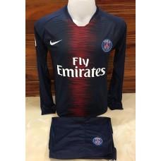 ชุดประตู เสื้อแขนยาว ทีมปารีส สีกรมท่า เสื้อ+กางเกง