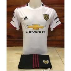 ชุดทีมแมนยู แมนเชสเตอร์ ยูไนเต็ด สีขาว เสื้อ+กางเกง