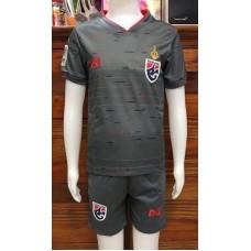 (เด็ก) ชุดทีมชาติไทย สีเทา ปี 2019 เสื้อ+กางเกง