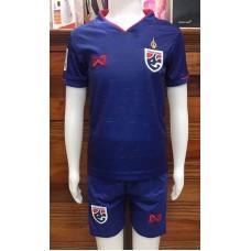 (เด็ก) ชุดทีมชาติไทย สีน้ำเงิน ปี 2019 เสื้อ+กางเกง