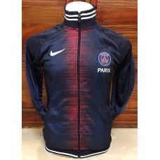 เสื้อคลุม เสื้อกันหนาว ทีมปารีส สีกรมท่าลายแดง