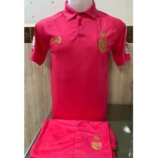 ชุดทีมชาติไทย สีชมพู 2020 เสื้อ+กางเกง