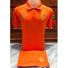 ชุดทีมชาติไทย สีส้ม 2020 เสื้อ+กางเกง