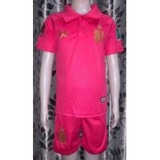 (เด็ก) ชุดทีมชาติไทย สีชมพู 2020 เสื้อ+กางเกง