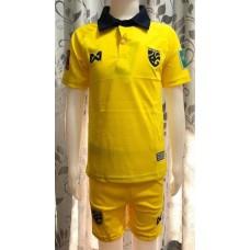 (เด็ก) ชุดทีมชาติไทย สีเหลือง ปี 2020 เสื้อ+กางเกง