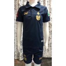 (เด็ก) ชุดทีมชาติไทย สีกรมท่า 2020 เสื้อ+กางเกง