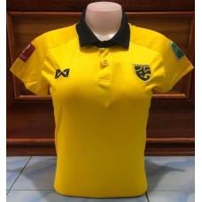 เสื้อกีฬาสำหรับผู้หญิงทีมชาติไทย สีเหลือง 2020